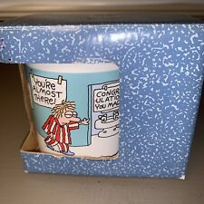 Hallmark Shoebox Mug Cup Morning Run New Old Stock In Box