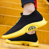 Men's Fashion Casual Shoes Ultralight Sports Sneakers Breathable Ultralight Gym