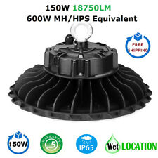 1000LED 150W UFO LED High Bay Light, Super Bright 18750 Lumens, IP65 Waterproof