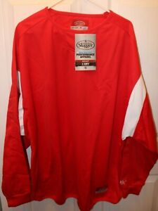 Louisville Slugger Cold Weather Performance Apparel X-Dry Pullover Mens XL New