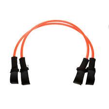 Pack of 2pcs Orange TPU Windsurfing Fixed Harness Line - 26 inch
