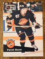 1991-92 Pro Set #564 Pavel Bure Vancouver Canucks Rookie Card RC Hockey Card