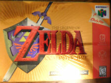 N64 Zelda Ocarina Collectors Ed BOX FRONT Only No game or manual just box front!