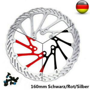 Fahrrad Brems Scheibe 160mm MTB Fahrrad Silber/Schwarz/Rot Für Shimano Sram KNC