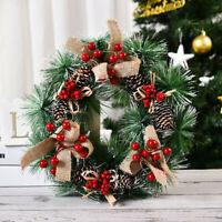 New Christmas Decorations Wooden Luminous Elk Christmas Tree Pendant Ornament UK