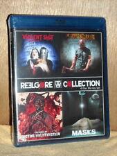 Reelgore Collection (Blu-ray, 2017,  4-Disc) Violent Sh*t Orphan Killer Masks NE