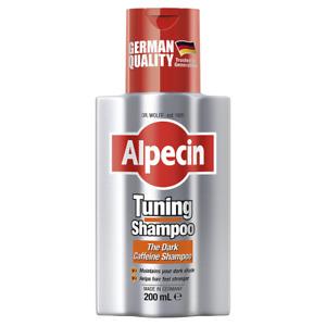Alpecin Tuning Shampoo 200mL Dark Caffeine Maintains Dark Shade Healthy Hair