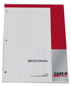 CASE IH MAXXUM 110, 115, 120, 125, 130,140 Engine Tractor Service Repair Manual