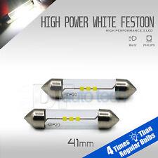 High Power LED Map/Dome Interior Light Bulbs 6000K White 42 MM Festoon