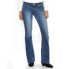 New Levi's Junior's Bootcut 524 Jeans Sunrise View 17M/33  $49.50