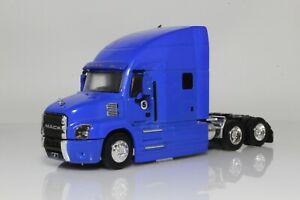 Mack Anthem Truck Cab, Tractor Trailer/ Semi Truck 1:64 Scale Diecast Model Blue
