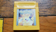 Pokemon gelb Nintendo GAME BOY Modul original