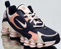 Nike Shox TL Nova Women's Blackened Blue Pink Athletic Lifestyle Sneakers Shoes