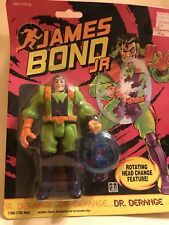 "1991 James Bond Jr "" Dr. Derange"" Action Figure"