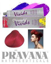 1 Haartönung PRAVANA CHROMA SILK Vivids 90ml Tube RED ROT Naturnah Haarfarbe