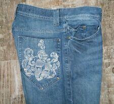 INC International Concepts Medium Wash Boot Cut Jeans Size 33x32 100% Cotton