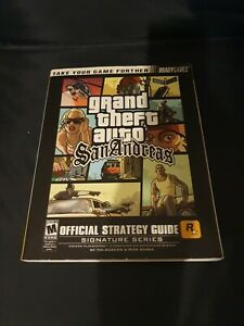 Grand Theft Auto San Andreas Official Strategy Guide by Brady Games