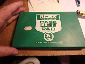 4w- RCBS case lube pad & 3 FLAMBEAU twin-60 loading blocks