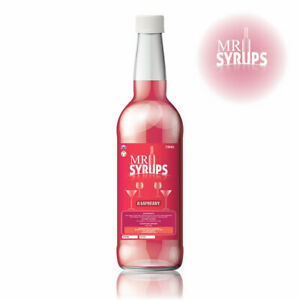 750ml Raspberry Flavour Drink Syrup - Flavouring for Drinks - Cocktail Syrup