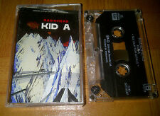 RADIOHEAD - kid A -2000 -indonesia tape- coldplay oasis the cure the smiths