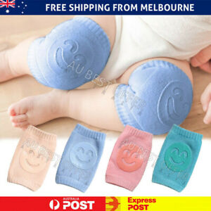 Baby Crawling Knee Pads Protector Toddler Legs Safety Infant Antislip Cushion AU