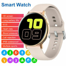 Bluetooth Smart Watch ECG Heart Rate Monitor Music Control for iPhone Samsung LG