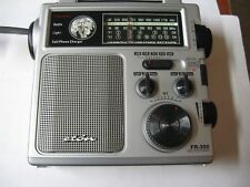 Eton FR300 Emergency Hand Crank Powered AM/FM Weather TV Radio w light&Siren