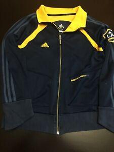 Adidas Women's LA Galaxy David Beckham jacket Large MLS Soccer 23
