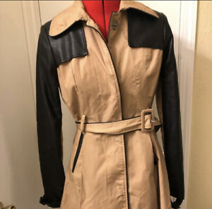 bebe trench coat Size Small