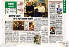 Coupure de presse Clipping 1988 (2 pages) Joyce Horman mort de Charles
