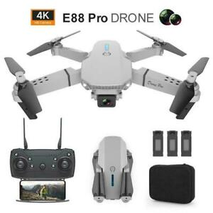 ✅ RC Mini Drone HD 4K Camera Drone FPV WiFi Remote Foldable Quadcopter Dron Toys