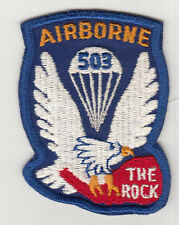Vintage 503rd Airborne Patch / Paratrooper Insignia