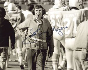 JOHNNY MAJORS SIGNED AUTOGRAPHED 8x10 PHOTO UNIVERSITY OF TENNESSEE BECKETT BAS