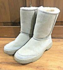 UGG Sheepskin Ultimate Short Boots Tan Sand  EUC Size 6