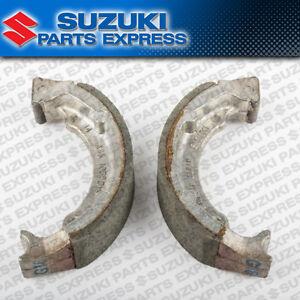 NEW 1987 - 2006 SUZUKI LT80 LT 80 QUADSPORT OEM FRONT BRAKE SHOES 54400-40810