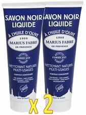 Marius Fabre - SAVON NOIR LIQUIDE à l'HUILE d'OLIVE - Nettoyant Multi-Usage X 2