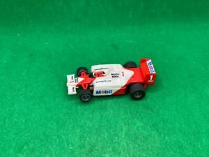 TOMY RACEMASTERS AFX TURBO, MOBILE, WHITE/RED # 1, LOOKS NEW