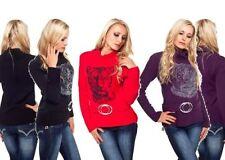 Damen-Pullover & -Strickware aus Acryl mit Rollkragen in Größe 38