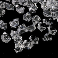 100± Clear Acrylic Ice Chunks Wedding Engagement Table Decor Vase Fillers