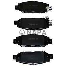 Disc Brake Pad Set-Natural Rear NAPA/RAYLOC SAFETY STOP-RSS SS7452X