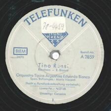 Orquesta Tipica Argentina Eduardo Bianco; Mario Visconti - Tino Rossi / Corazon