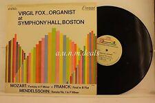 "Virgil Fox - Organist -  Command Classics  Records  LP 12"" (VG)"