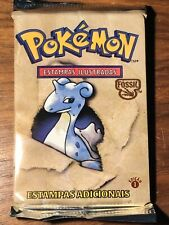 Rare Sealed 1st Edition Pokemon Fossil Pack (Portuguese)