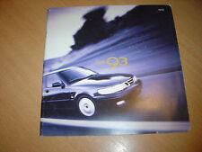 CATALOGUE Saab 9-3 de 1999 Belgique