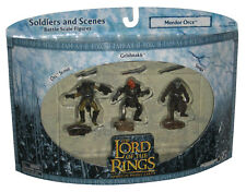 Lord of The Rings Soldiers and Scenes Mordor Orcs Toy Figure Set - (Orc Scout /