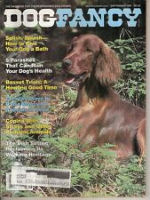 Vintage Dog Fancy Magazine September 1987 *A Irish Setter on the Front Cover