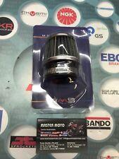 Filtro Aria Racing Metallico 38 Millimetri Diritto Corto x carburatore 100601020
