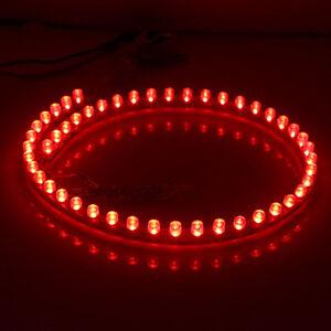 Red 48 LED 48cm Car Auto Flexible Waterproof Strip Light Lamp SMD 12V