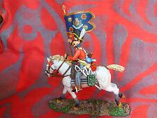 Cavalier premier empire King & Country - NA083 - Drapeau des Scots Grey