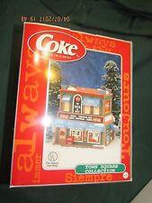 Coca-Cola Town Square Collection Pick A Pet Shop Vet Christmas Village House
